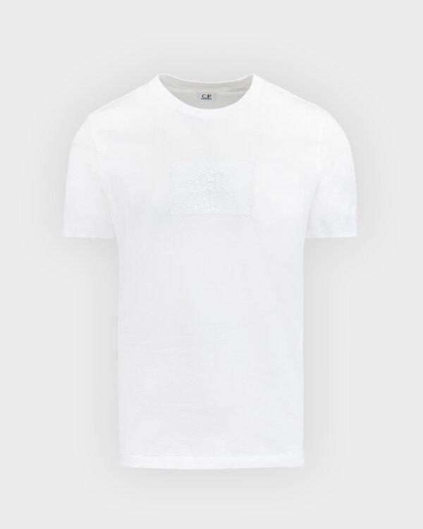 T-Shirt C.p. Company 10CMTS180A005100W_103 biały