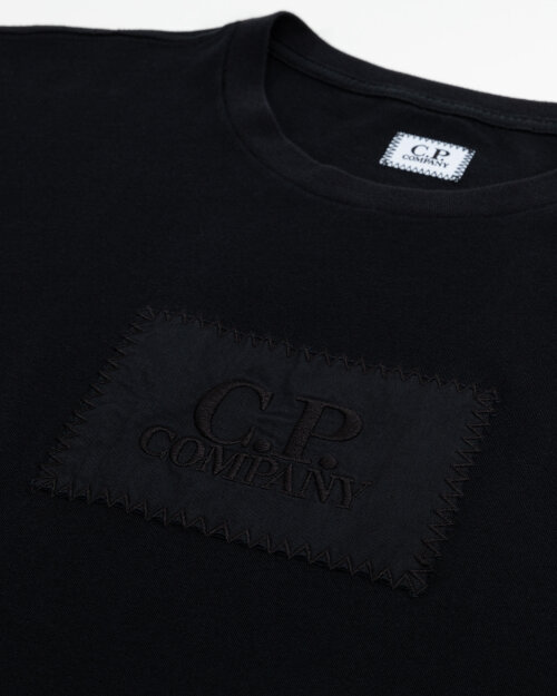 T-Shirt C.p. Company 10CMTS180A005100W_999 czarny