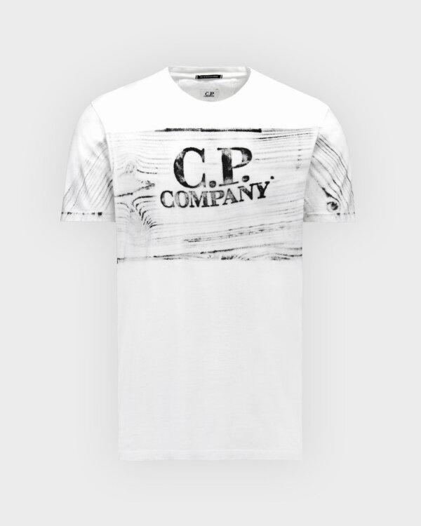 T-Shirt C.p. Company 10CMTS209A005697H_103 biały