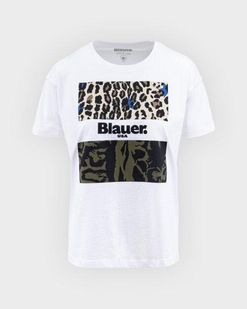 T-Shirt Blauer BLDH02137_4547_100 biały