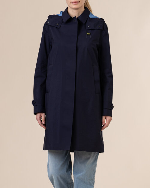 Płaszcz Blauer BLDK04174_5957_802 granatowy