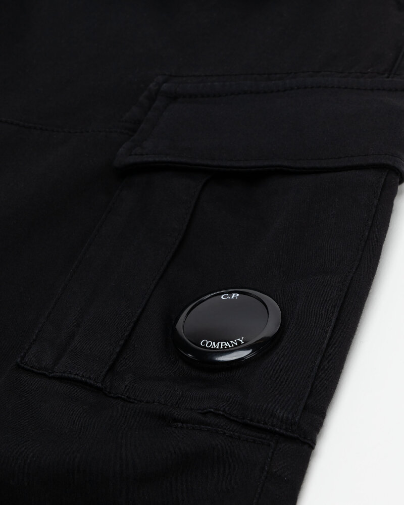 Spodnie C.p. Company 10CMPA151A005694G_999 czarny - fot:4
