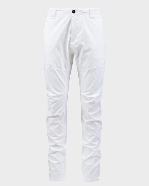 Spodnie C.p. Company 10CMPA153A005694G_103 biały
