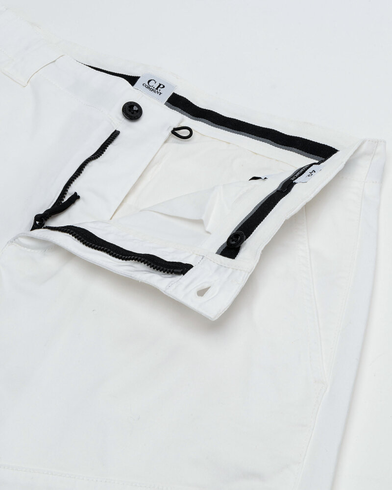 Spodnie C.p. Company 10CMPA153A005694G_103 biały - fot:2