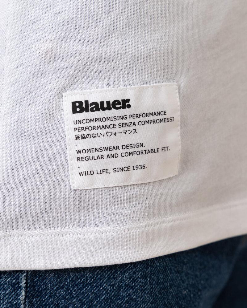 T-Shirt Blauer BLDH02318_5984_100 biały - fot:3
