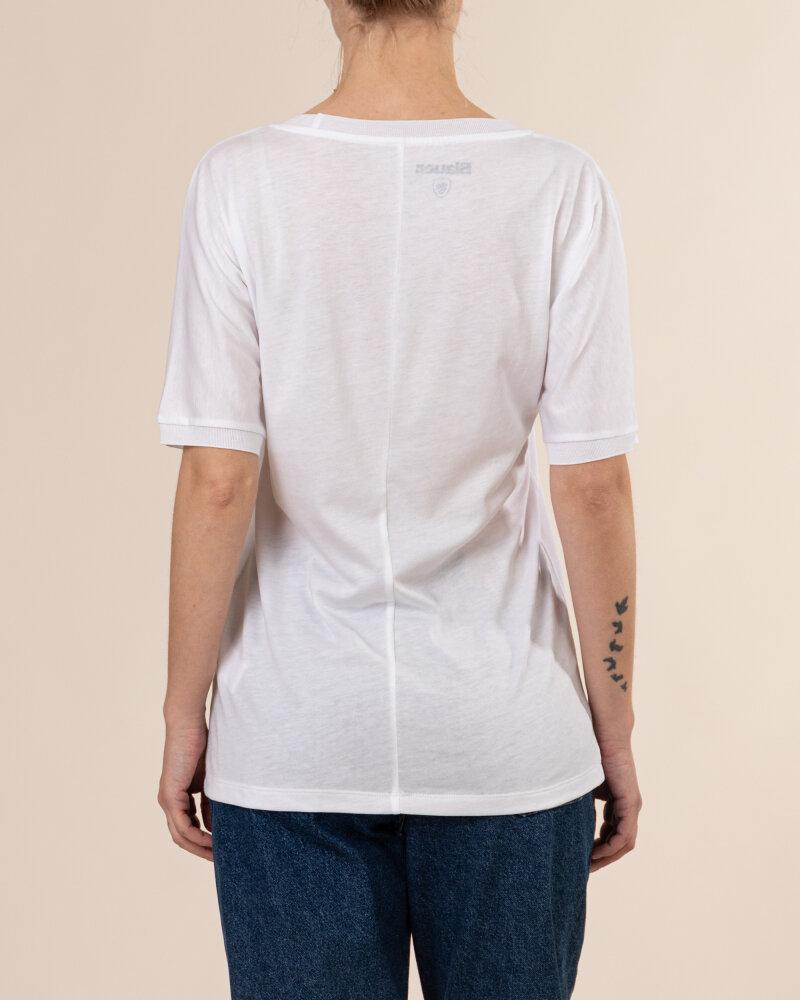 T-Shirt Blauer BLDH02318_5984_100 biały - fot:4