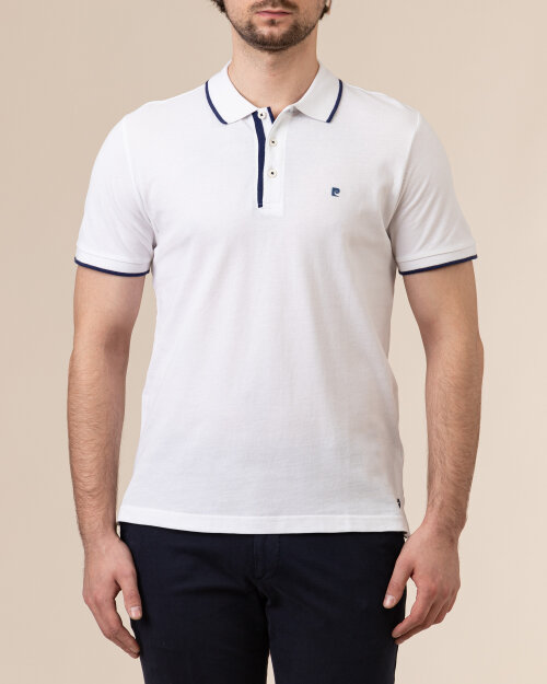 Polo Pierre Cardin 01225_52114_1000 biały