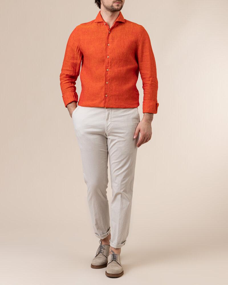 Koszula Stenstroms 775221_7970_770 pomarańczowy - fot:5