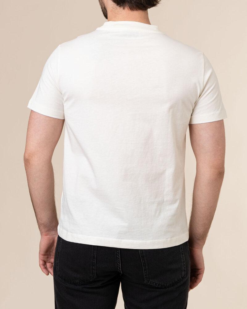 T-Shirt Trussardi  52T00484_1T005172_W004 kremowy - fot:4