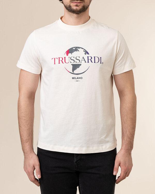 T-Shirt Trussardi  52T00443_1T005227_W004 kremowy