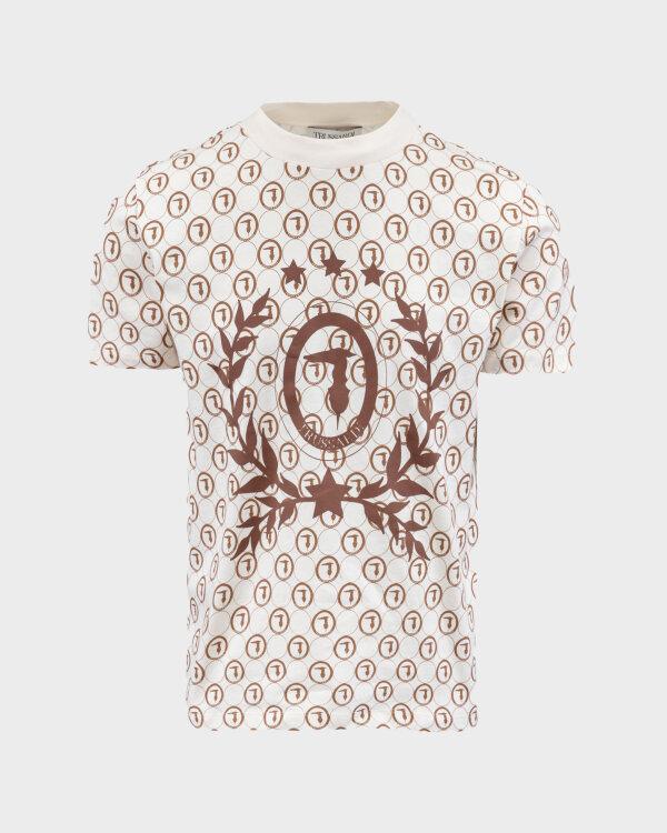 T-Shirt Trussardi  52T00440_1T005227_W004 kremowy