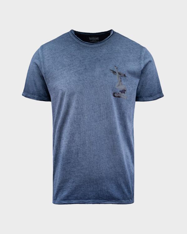 T-Shirt Bomboogie TM6976_JSEP_212 granatowy