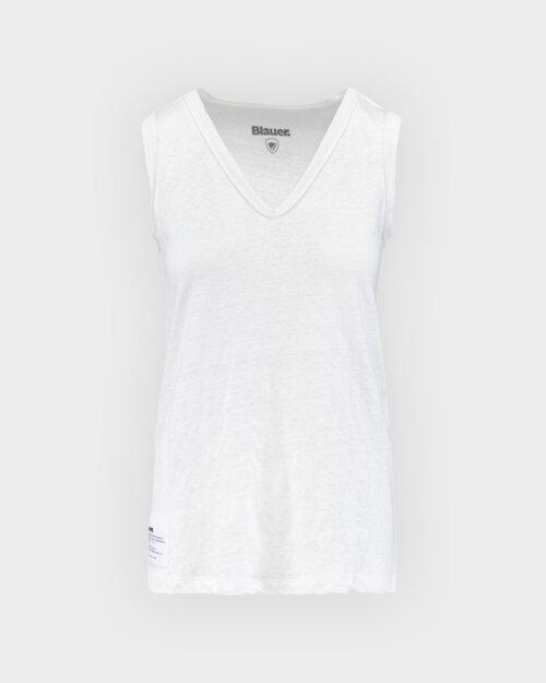 Bluzka Blauer BLDH03315_5987_100 biały