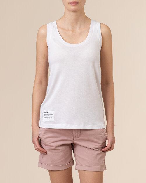 Bluzka Blauer BLDH03320_5984_100 biały