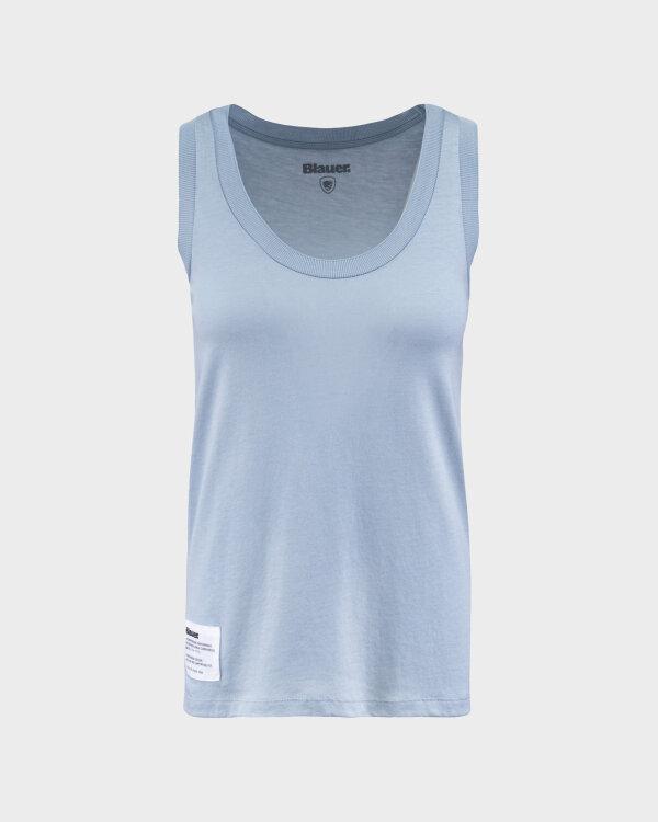 Bluzka Blauer BLDH03320_5984_840 błękitny