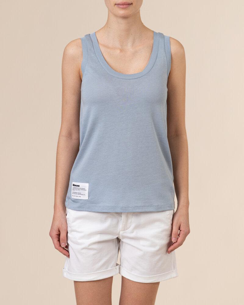 Bluzka Blauer BLDH03320_5984_840 niebieski - fot:2