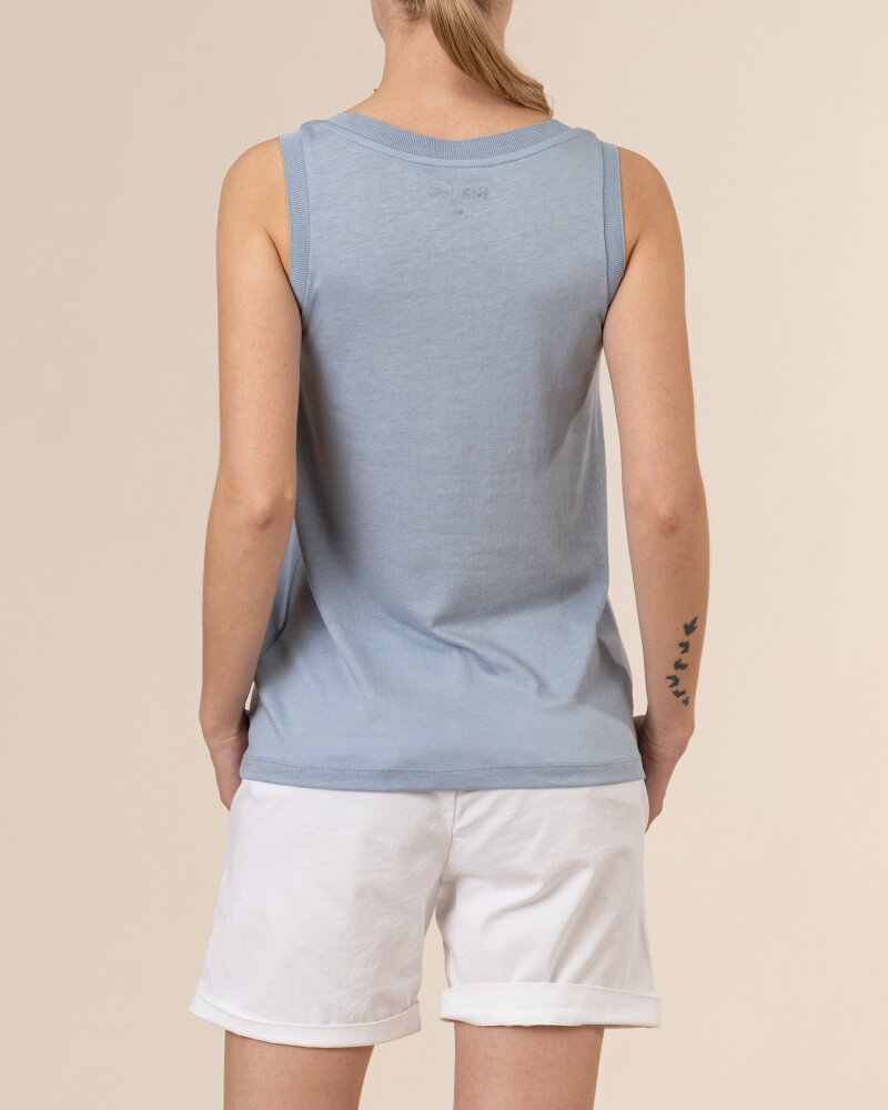 Bluzka Blauer BLDH03320_5984_840 niebieski - fot:4