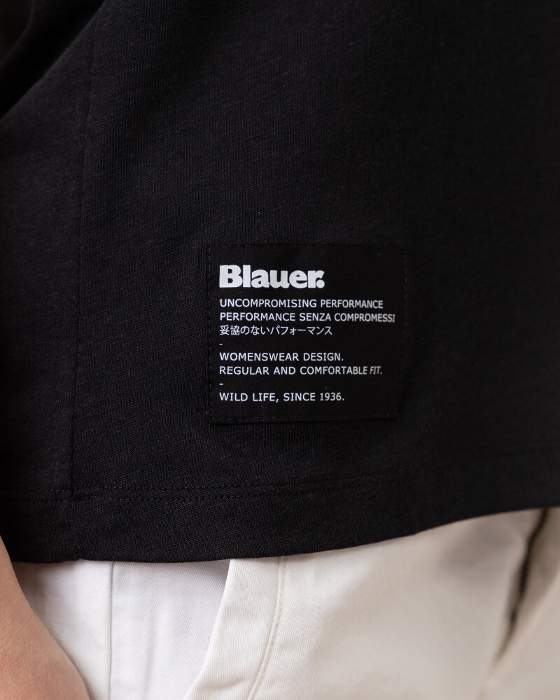 Bluzka Blauer BLDH03320_5984_999 czarny - fot:3