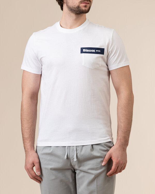 T-Shirt Blauer BLUH02136_4547_100 biały