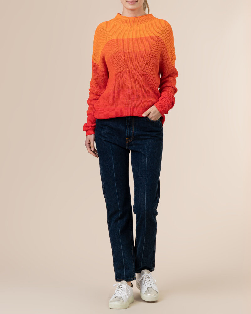 Sweter Camel Active 5K70309536_66 pomarańczowy - fot:5