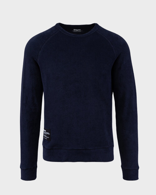 Sweter Blauer BLUF03303_5985_802 granatowy