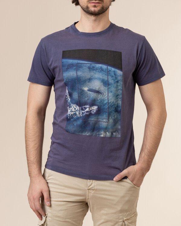 T-Shirt Bomboogie TM6979_JSEY_212 fioletowy