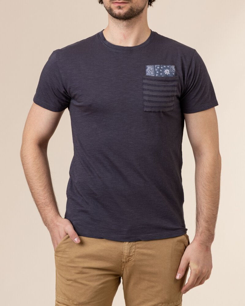 T-Shirt Bomboogie TM6965_JSSG_95 fioletowy - fot:2