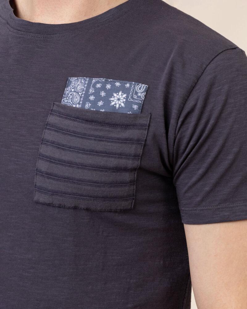 T-Shirt Bomboogie TM6965_JSSG_95 fioletowy - fot:3