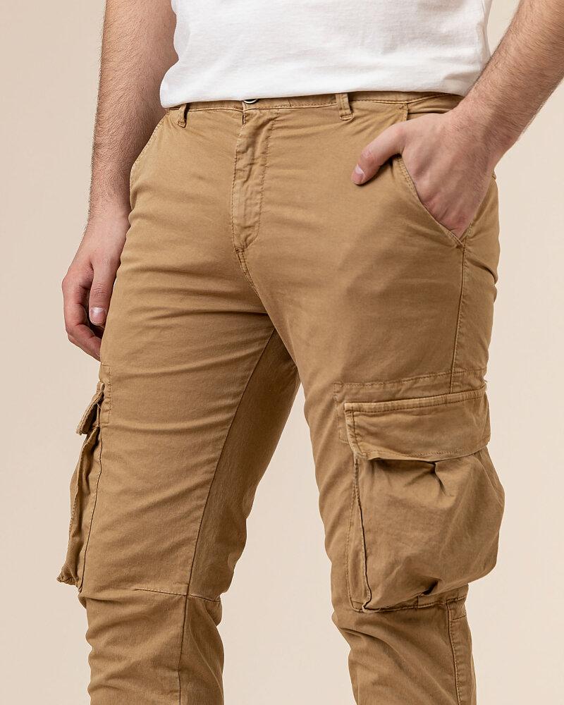 Spodnie Bomboogie PMRYAN_GBT_03 brązowy - fot:3