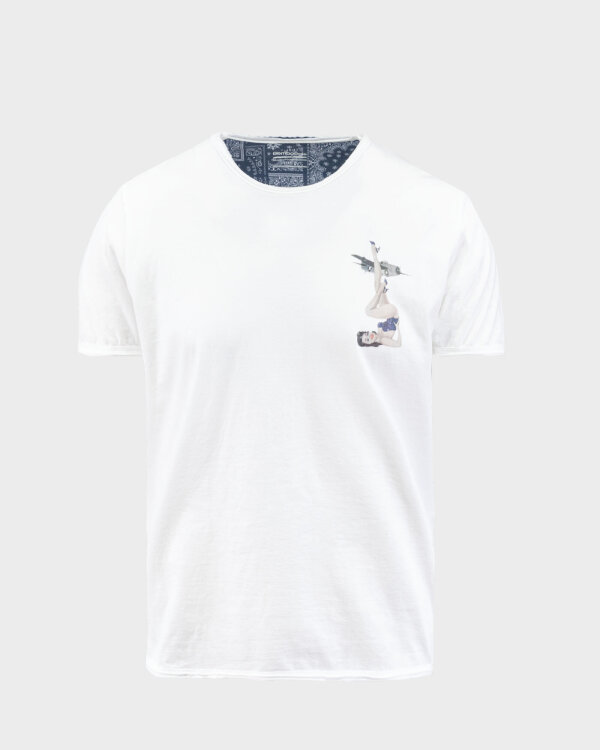T-Shirt Bomboogie TM6976_JSEP_01 biały