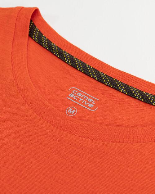 T-Shirt Camel Active 5T26409644_55 pomarańczowy