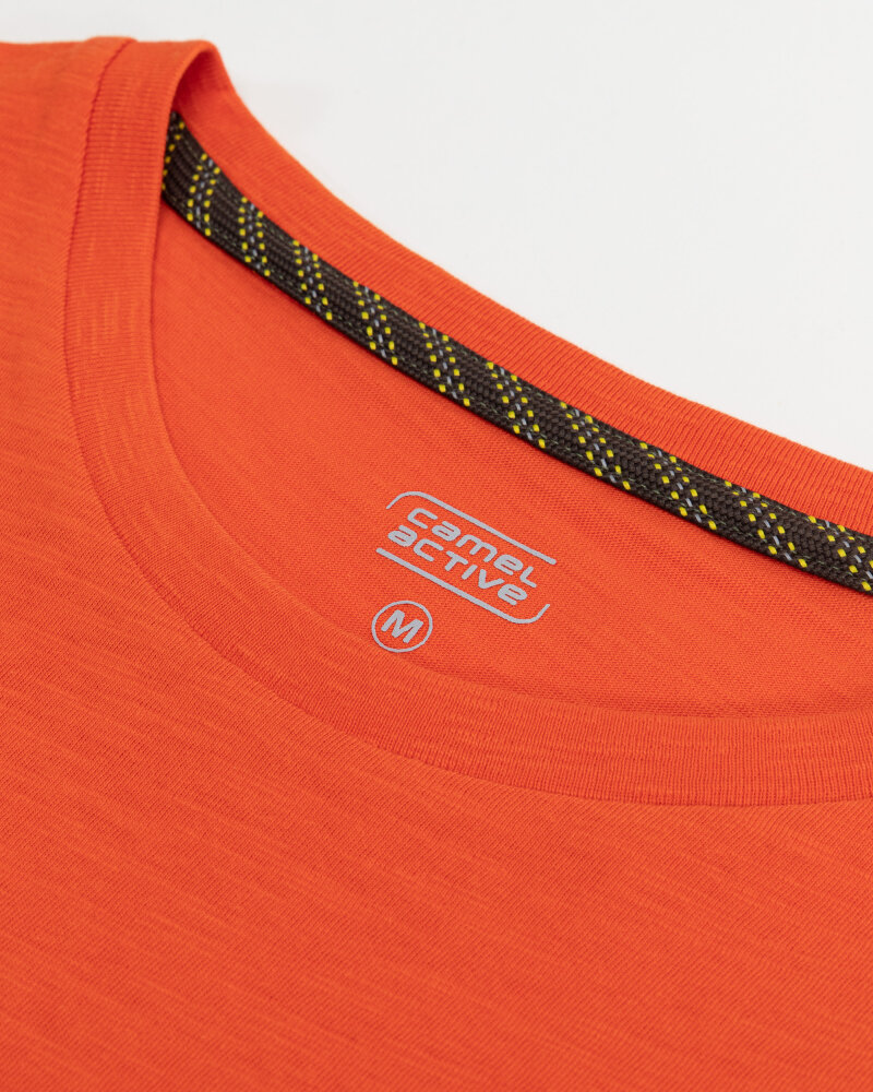 T-Shirt Camel Active 5T26409644_55 pomarańczowy - fot:2
