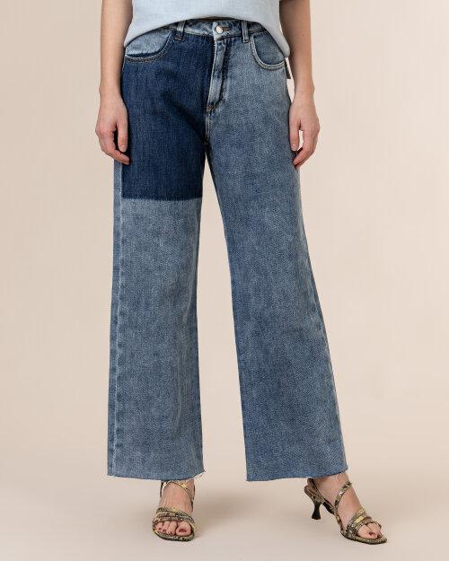Spodnie Beatrice B 21FE1488STONE_550 niebieski