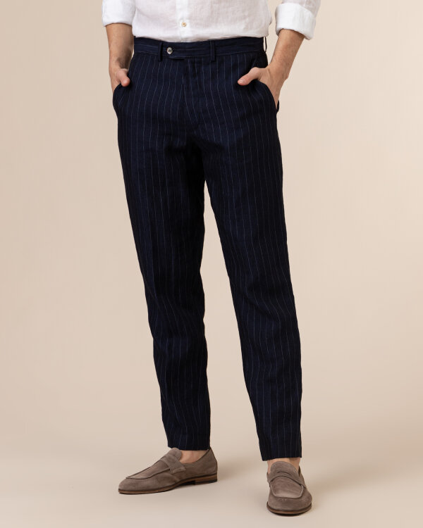 Spodnie Oscar Jacobson NICO 5233_5685_210 granatowy