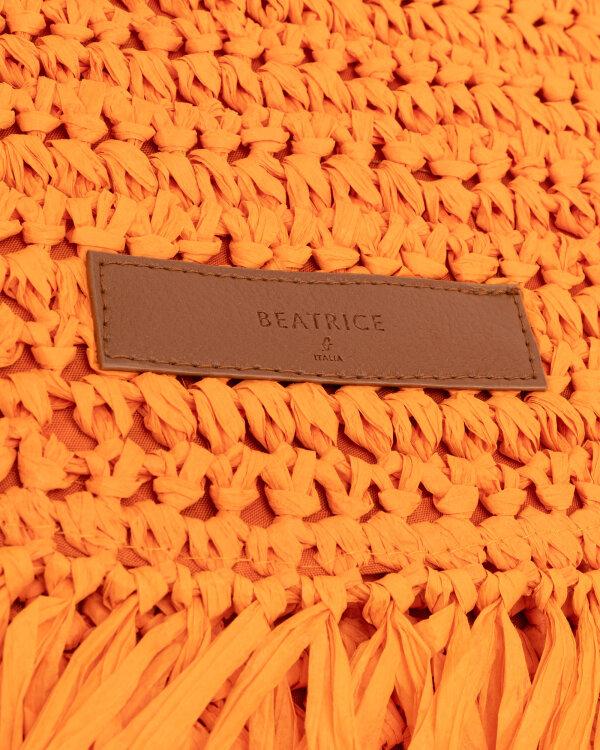 Torba Beatrice B 21FE9588STRAW_450 pomarańczowy