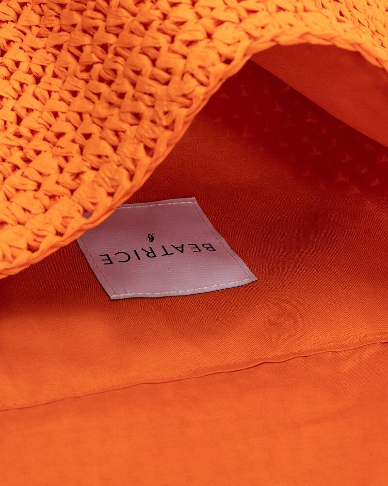 Torba Beatrice B 21FE9588STRAW_450 pomarańczowy - fot:5