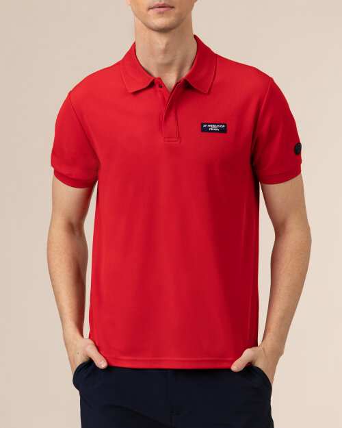 Polo North Sails | Prada 452015_RED czerwony