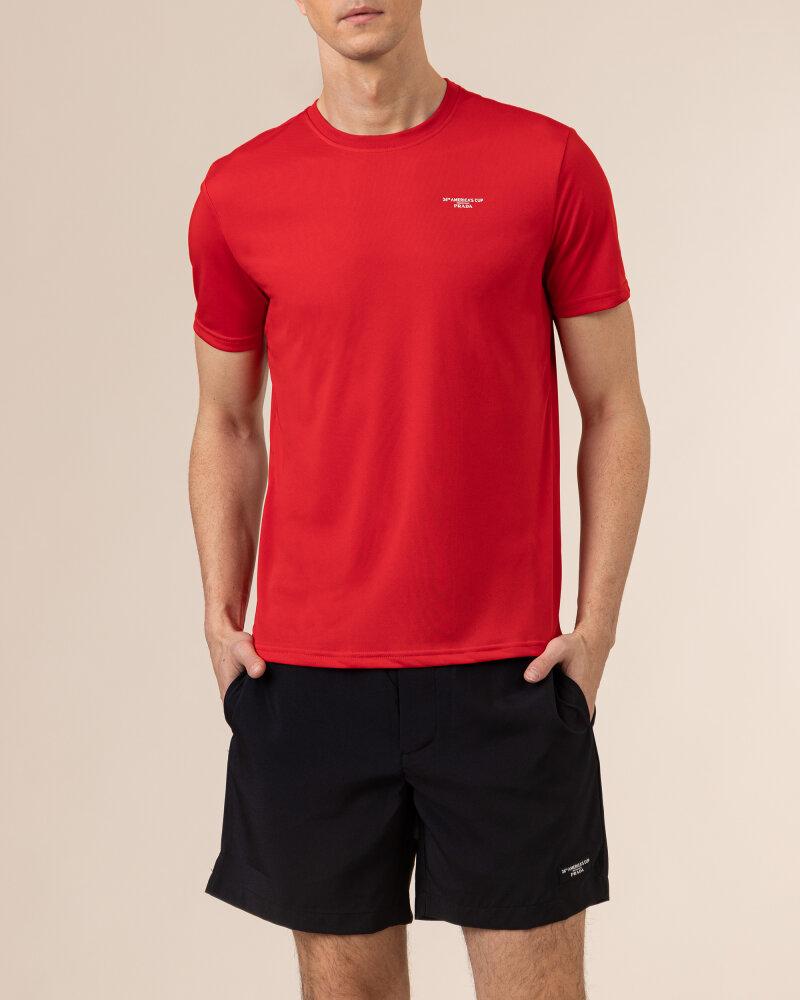T-Shirt North Sails | Prada 452307_RED czerwony - fot:2