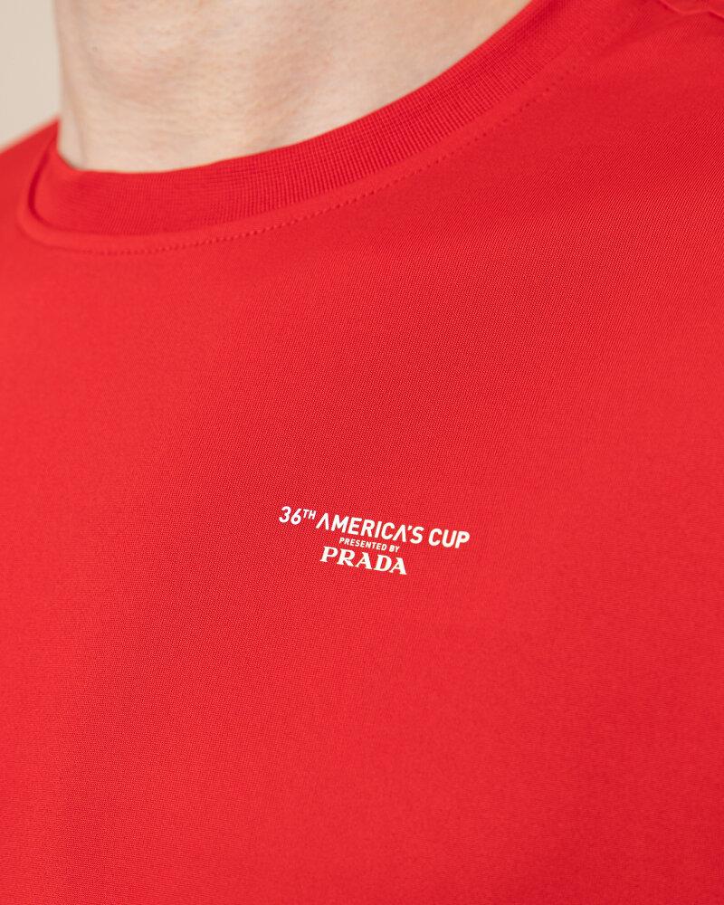 T-Shirt North Sails | Prada 452307_RED czerwony - fot:4