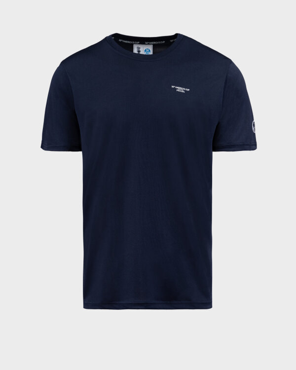 T-Shirt North Sails | Prada 452307_NAVY BLUE granatowy