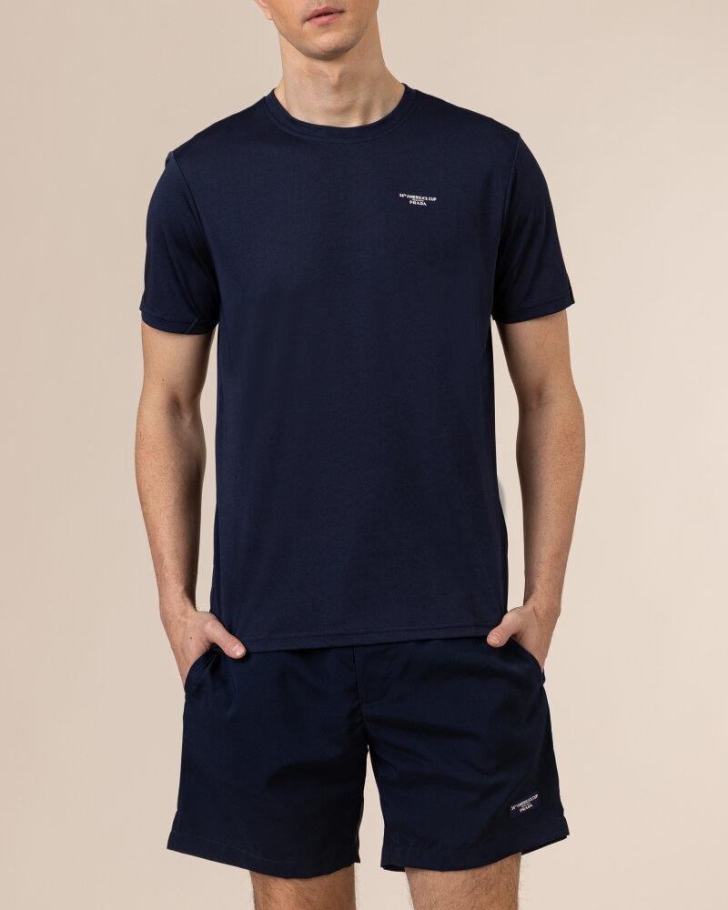 T-Shirt North Sails   Prada 452307_NAVY BLUE granatowy - fot:2