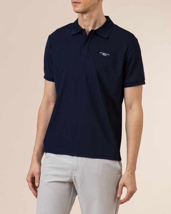 Polo North Sails | Prada 452015_NAVY BLUE granatowy
