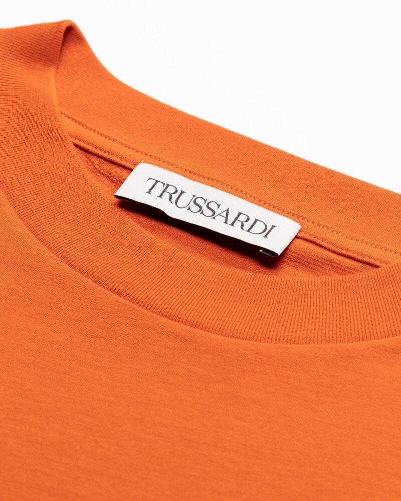 T-Shirt Trussardi  52T00484_1T005172_O192 pomarańczowy - fot:2