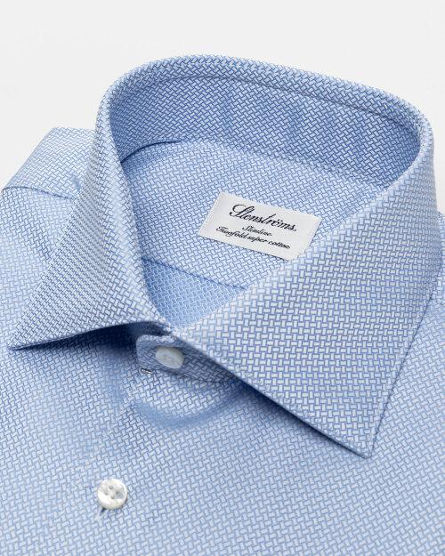 Koszula Stenstroms 702791_8102_100 niebieski
