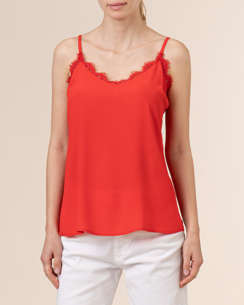 Bluzka Beatrice B 21FE8878TORRE_360 czerwony - fot:2