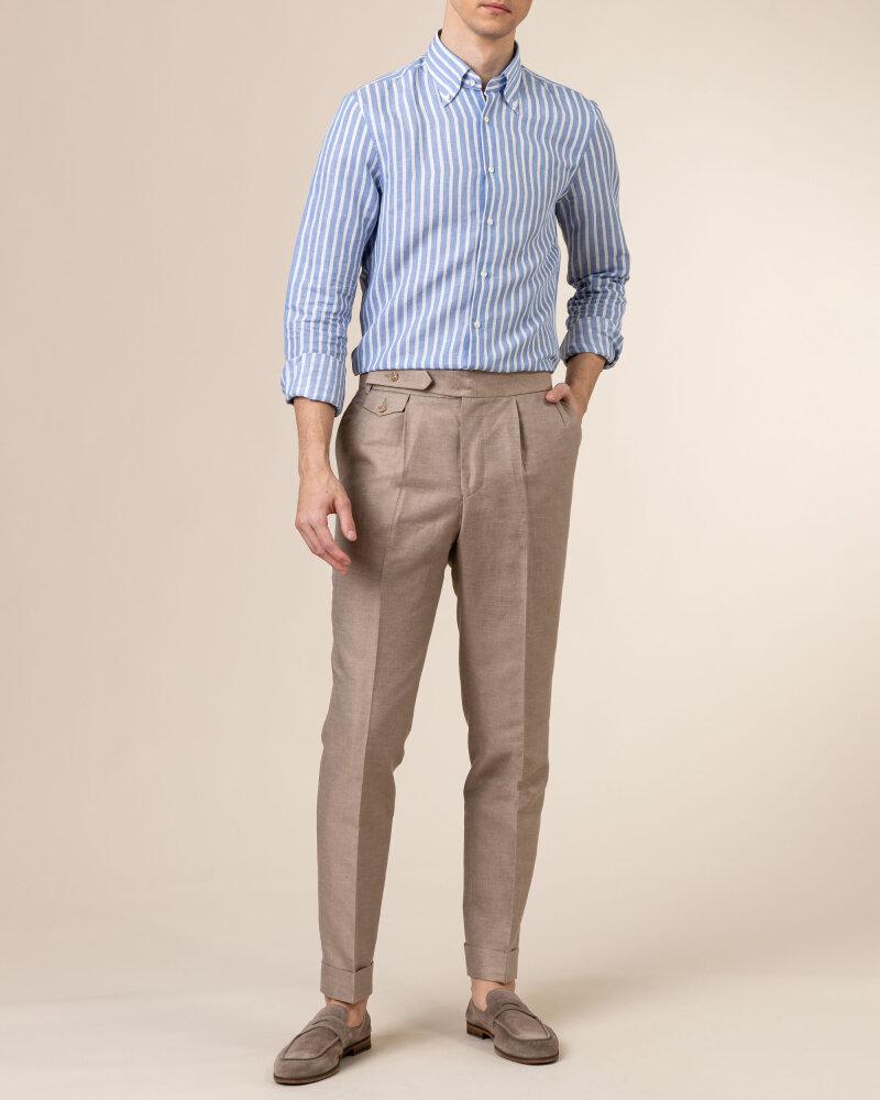 Spodnie Cavaliere 20SS21515_JERRY COMO_50 brązowy - fot:5