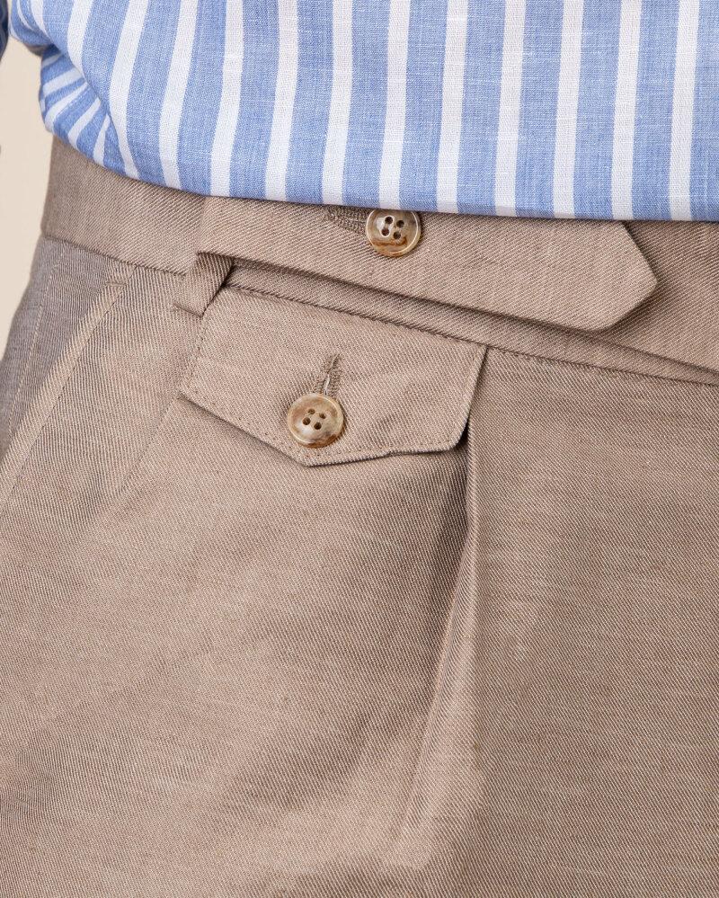 Spodnie Cavaliere 20SS21515_JERRY COMO_50 brązowy - fot:3