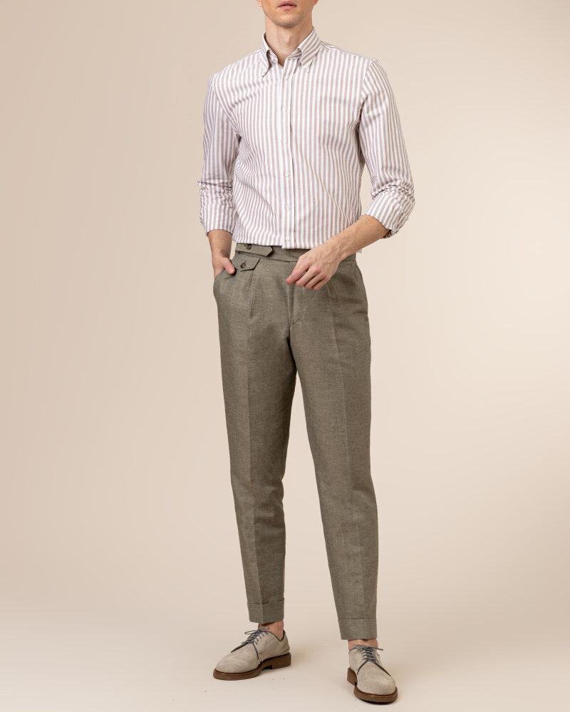 Spodnie Cavaliere 20SS21515_JERRY COMO_80 zielony - fot:5