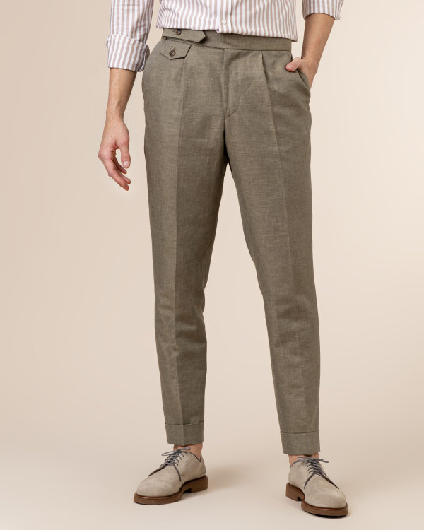 Spodnie Cavaliere 20SS21515_JERRY COMO_80 zielony