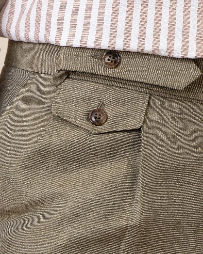 Spodnie Cavaliere 20SS21515_JERRY COMO_80 zielony - fot:3